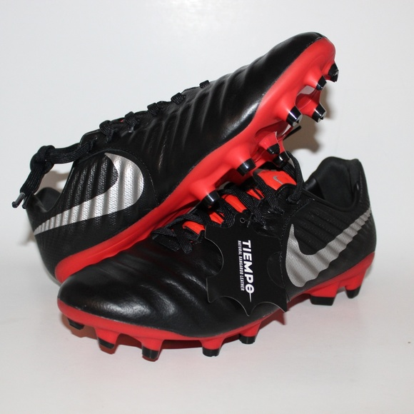 1f8195ca4 Nike Tiempo Legend 7 Pro FG Soccer Cleats Black Re